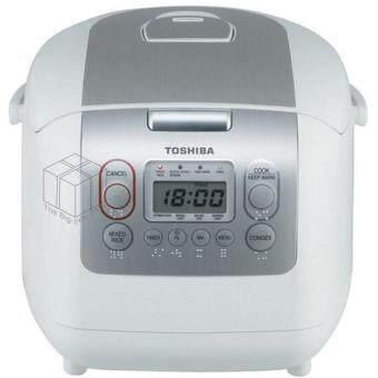 ลดราคา หม้อหุงข้าวดิจิตอล 1.0 ลิตร สีขาว รุ่น TOSHIBA RC-10NMF(WT)A