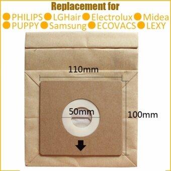 10pcs General Vacuum cleaner bags 11x10cm hepa filter dust bagscleaner bags for FC8334 FC8336 FC8338 FC8344 FC8347 FC8348...... -intl