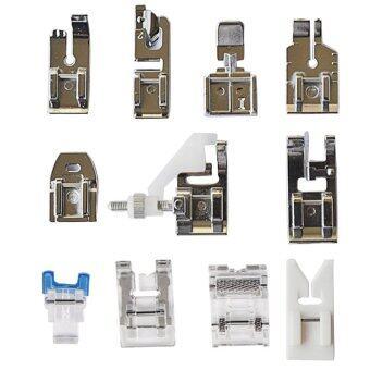ลดราคา 11 Pcs Multifunction Sewing Machine Presser Walking Foot Feet KitAccessories for Brother Singer Feiyue