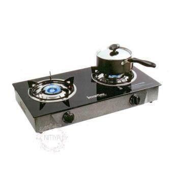 เตาแก๊ส 2หัว รุ่น IMARFLEX IG-426 (Black)
