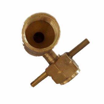 ข้อต่อปิคนิค สำหรับแปลงถังแก๊ส 4กก ทองเหลืองแท้