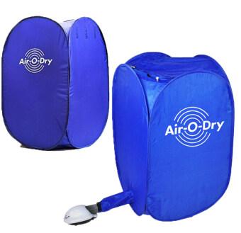 สนใจซื้อ เครื่องอบผ้าสารพัดประโยชน์ขนาดพกพาสะดวก Air-O-Dry จุผ้าได้ 10 กิโลกรัม กำลังไฟฟ้า 800watt แห้งไวใน 10 นาที 2 เครื่อง(Blue)