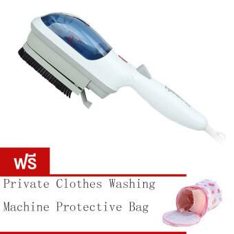 BEST Tmall Stream Iron Brush เครื่องรีดผ้าไอน้ำแบบพกพา รุ่น TM2106(สีน้ำเงิน) Free Washing Machine Special For Washing Underwear BraProtective Bag