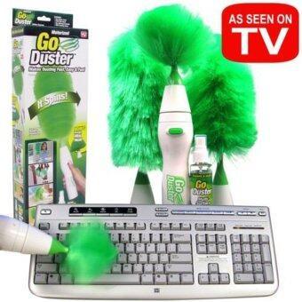BighomeGo Duster ไม้ปัดฝุ่น ทำความสะอาด อุปกรณ์ทําความสะอาดบ้าน -สีเขียว