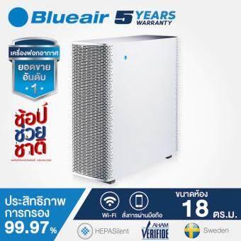 BlueAir เครื่องฟอกอากาศ รุ่น Sense + รองรับขนาดพื้นที่ 18 ตร.ม. (White)