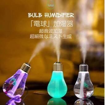 เครื่องฟอกอากาศอโรม่า Car Aroma Diffuser Steam Air Humidifier andAromatherapy Essential Oil Diffuser Aromatherapy LED USB NightlightLamp(Silver)