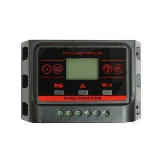 2560 citylights ชาร์จเจอร์ คอนโทรลเลอร์ 30A Charger Controller 12/24V USB5V 30A จอ แสดงผล LCD