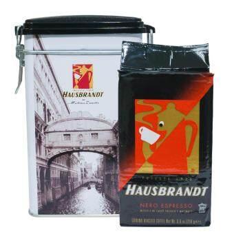 COFFEE ITALY HAUSBRANDT Anniversario เมล็ดกาแฟคั่วบด อาราบิก้าผสมโรบัสต้า
