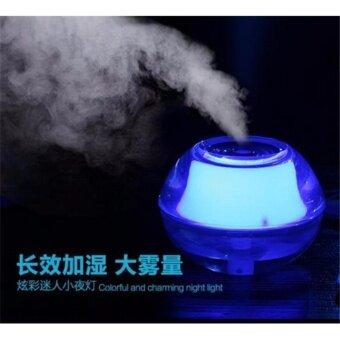 CRYSTAL Humidifier เครื่องพ่นควันเพิ่มความชื้นเรืองแสงได้ใส่น้ำหอมเพิ่มความชื่นและกลิ่นหอมในห้อง