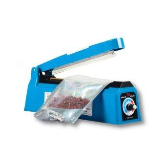 DJSHOP เครื่องซีลปากถุง เครื่องปิดปากถุง 8นิ้ว/200MM รุ่น PFS-200(Blue)