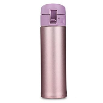 Double Walled Vacuum Sealed Insulated Stainless Steel Water BottleVacuum Flask Travel Mug Perfect for Indoor Office OutdoorSports(500ML) - intl
