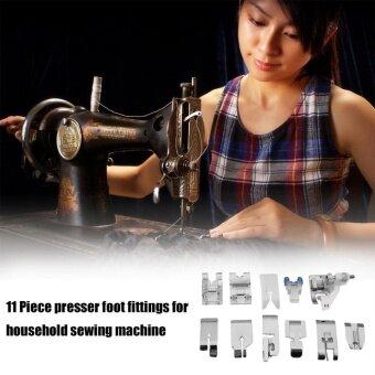 ERA 11pcs/set Multifunctional Sewing Machine Feet Presser FootSpare Accessories - intl