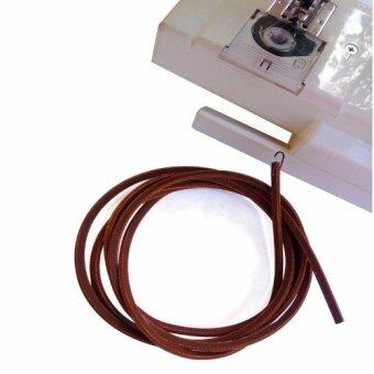 FD Premium สายพาน จักรเย็บผ้า Spare Sewing Machine Spools รุ่น HLM024 (สี น้ำตาล)
