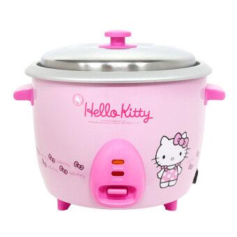 GALAXY หม้อหุงข้าวไฟฟ้า Hello Kitty ขนาด 1 ลิตร รุ่น RC-810\n(สีชมพู)