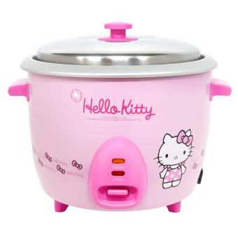 GALAXY หม้อหุงข้าวไฟฟ้า Hello Kitty ขนาด 1.8 ลิตร รุ่น RC-818(สีชมพู)