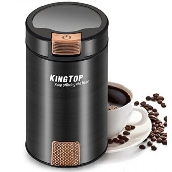 GPL/ Coffee Grinder Electric 200W KINGTOP Fresh-Grind Coffee Bean Grinder with Stainless Steel Blade for Bean Seed Nut Spice Herb Pepper [2 Years Warranty]/ship from USA - intl