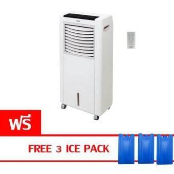 ต้องการขายด่วน Hatari พัดลมไอเย็น 8 ลิตร รุ่น HT-AC10R1 (White) แถมฟรี coolingpack 3 อัน