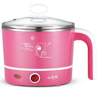 High Quality Stainl หม้อตุ๋นไฟฟ้าอเนกประสงค์ คุณภาพสูง - Pink