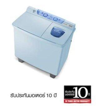 Hitachi เครื่องซักผ้าฝาบน 2 ถัง ขนาด 8 กก. รุ่น Ps-80lj