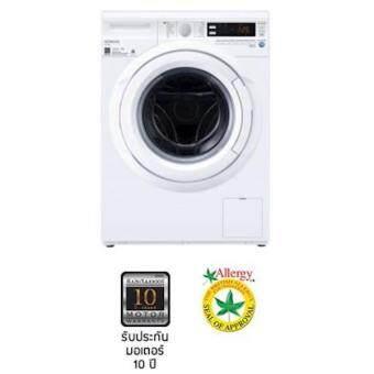 รีวิวพันทิป เครื่องซักผ้าเปิดฝาด้านหน้า แบรนด์ Hitachi ขนาด 8 กิโลกรัม โมเดล Bd-W80wv