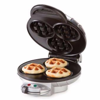 เสนอราคา HOMEMATEเครื่องอบขนมวาฟเฟิล / Mini Belgian Waffle Maker HOM-115B21