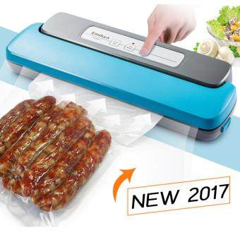 Hot item Vacuum of Sealing Machine เครื่องซีลดูดสูญญากาศถนอมอาหารอัตโนมัติ - Sky Blue