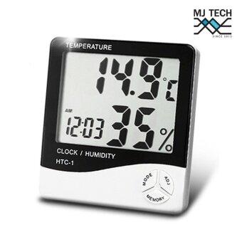 HTCเครื่องวัดอุณหภูมิและความชื่น รุ่น HTC-1 (สีดำ/ขาว)