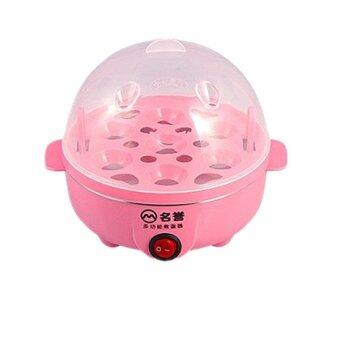 Harga Electric Egg Boiler Cooker (Cooks up to 7 eggs hard or soft boiled) - Pink