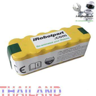 แบตเตอรี่ irobot 4000mAh ใช้ได้กับ irobot ทุกรุ่น (ยกเว้น Roomba 880 980)