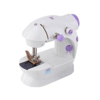 Jysm-202 Mini Portable Electronic Double Speed Sew Sewing Machine Set of 2 - Intl