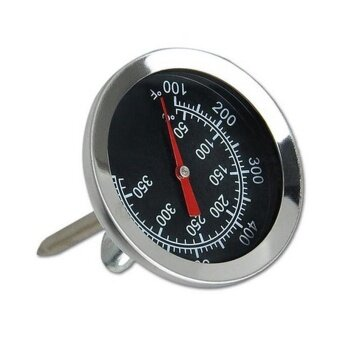 Kitchen Oven Thermometer Stainless Steel Probe Thermometer FoodMeat Gauge 350°C - intl