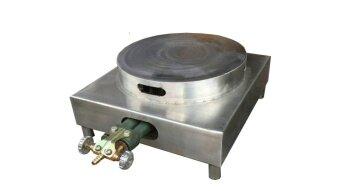 KSM เตาเครปแก๊ส เตาทำขนมเครป สแตนเลส ขนาด 12 นิ้ว - Silver