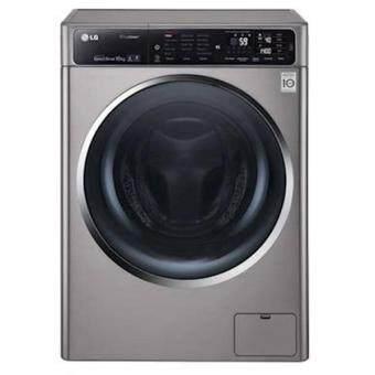 เครื่องซักผ้าเปิดฝาด้านหน้า ยี่ห้อ LG ขนาด 10.5 กิโลกรัม โมเดล F1450st1v