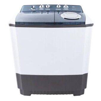 เครื่องซักผ้าเปิดฝาด้านบนสองถัง ยี่ห้อ LG ขนาดน้ำหนัก 11 กิโลกรัม โมเดล Wp-1400rot