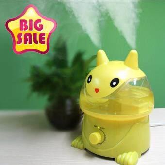 Little Cat Humidifier เครื่องฟอกอากาศ เพิ่มความชื้นในอากาศ รุ่น แมวเหลือง 3.5L