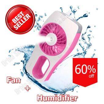 Mini Cooling Replenishment Fan พัดลมไอน้ำมินิ (สีชมพู)