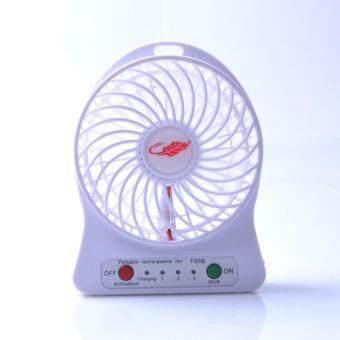 Mini fan พัดลมพกพาขนาดเล็ก ชาร์จสายUSB ใส่ถ่าน ลมแรง