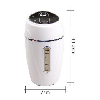 รีวิวพันทิป Mini USB silence Humidifier Air Purifier For Car Home Office(White)