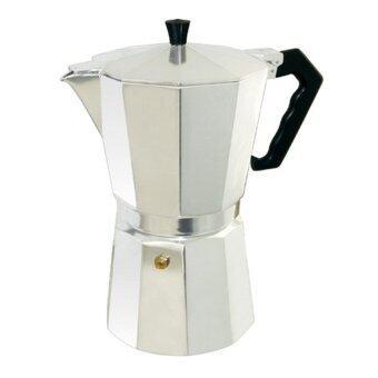 moka pot9 cupกาต้มกาแฟสดเครื่องชงกาแฟสด แบบพกพาใช้ทำกาแฟสดทานได้ทุกที