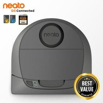 NEATO Connected D3 Neato Connected D3 หุ่นยนต์ดูดฝุ่นที่ฉลาดที่สุด โดดเด่นด้วยระบบเลเซอร์นำทางและการทำงานแบบ Multi Room
