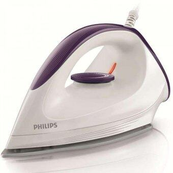 Philips เตารีดแห้ง GC160 (สีขาว-ม่วง)