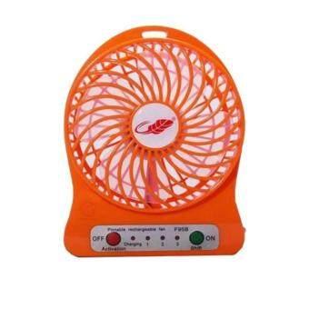 Portable cooler พัดลมมินิ Portable Fan F95B-แดง