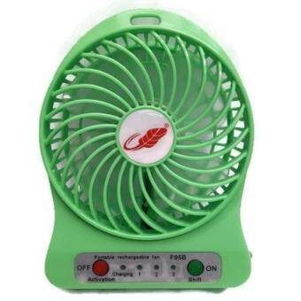 Portable cooler พัดลมมินิ Portable Fan F95B-ฟ้า