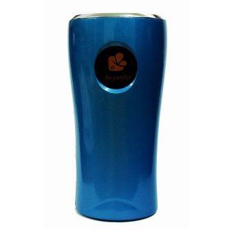 เครื่องพ่นอนุภาคไฟฟ้า เครื่องฟอกอากาศในรถยนต์ (สีน้ำเงิน)