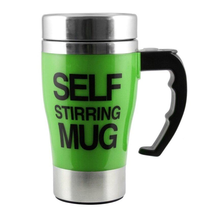 Rayton Self Stirring Mug แก้วชงกาแฟอัตโนมัติ (Green)