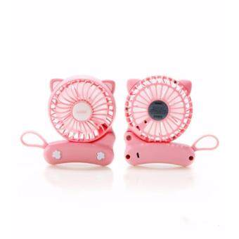 Remax Cat Foldable Fan F14 (Pink)