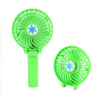 Replica Shop พัดลมพกพาพร้อมด้ามจับUSB (สีเขียว)