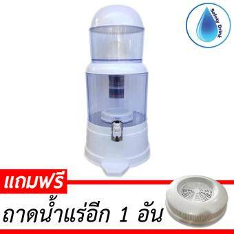 SafetyDrink เครื่องกรองน้ำแร่ 20 ลิตร รุ่น PURE20 (สีขาว)