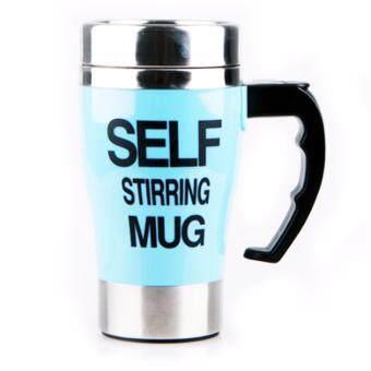 Self Stirring Mug แก้วชงกาแฟอัตโนมัติ แบบสแตนเลส