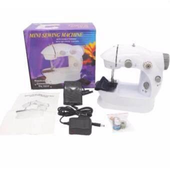 จักรเย็บผ้าไฟฟ้า จักรเย็บผ้าเล็ก จักรเย็บผ้าจักรเย็บผ้าไฟฟ้าขนาดเล็ก จักรเย็บผ้าไฟฟ้าพกพา ใช้งานง่าย SEWING
